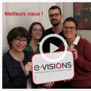 L'équipe de e-VISIONS vous présente ses meilleurs vœux pour 2019 !