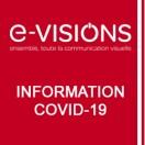 Courrier du Président de e-VISIONS sollicitant l'annulation de la TLPE pour 2020