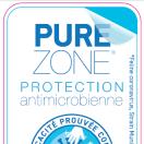 Les films HEXIS de protection antimicrobienne PUREZONE actifs contre les coronavirus.