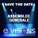 Ne manquez pas l'Assemblée Générale de e-VISIONS, le 21 mars 2019 !